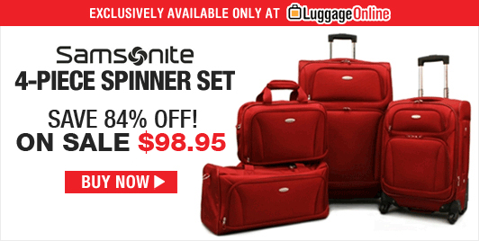 Samsonite 5-Piece Luggage Set - On Sale!